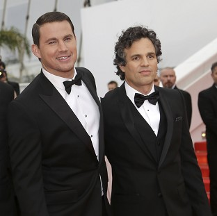 Channing Tatum and Mark Ruffalo play brothers and Olympic-winning wrestlers in Foxcatcher, which screened at the Cannes Film Festival