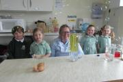 Dr Nicola Powles-Glover, centre, shows youngsters how science can be fun and interesting through a series of workshops at Terra Nova Pre-Prep