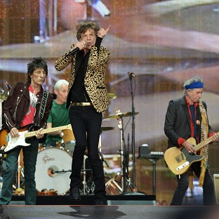 The Rolling Stones played hits from over the decades and ended their set with fireworks, on their return to the stage