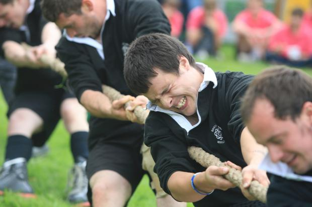 Enter your team in Chelford tug of war