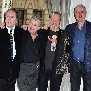 The Monty Python team have recorded a World Cup song