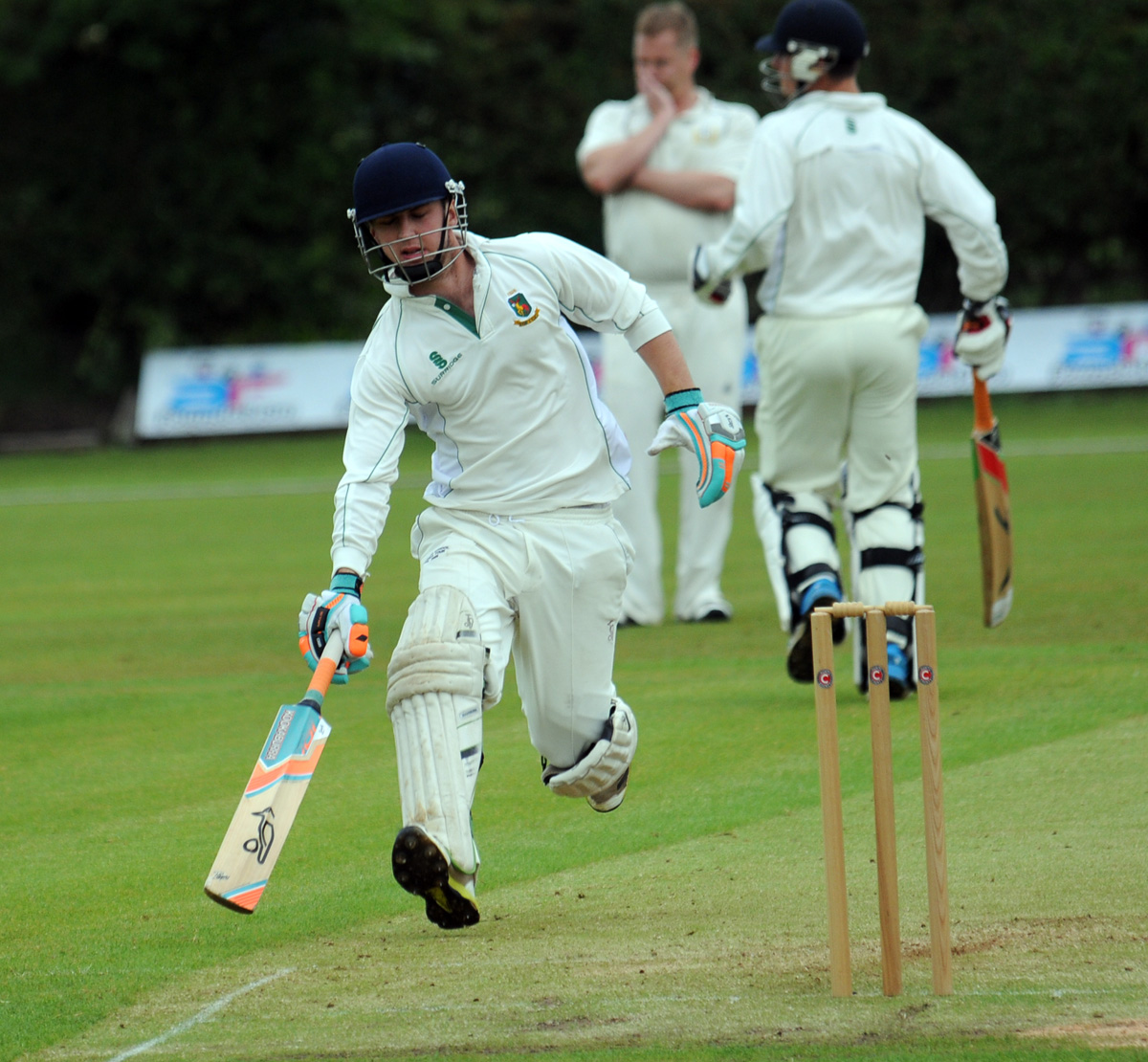 Henry Hughes fell just short of making a half-century for Toft in an eight-wicket defeat at Grappenhall on Saturday. Picture: DAVE GILLESPIE