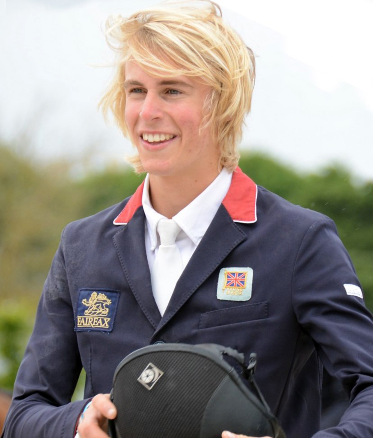 SHOWJUMPING: Prize for Webb
