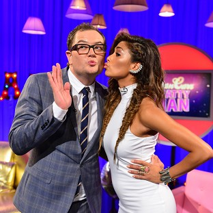 Nicole Scherzinger told Alan Carr that The X Factor was at its b