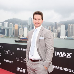 Mark Wahlberg arrives at the world premiere screening of Transformers: Age Of Extinction in Hong Kong