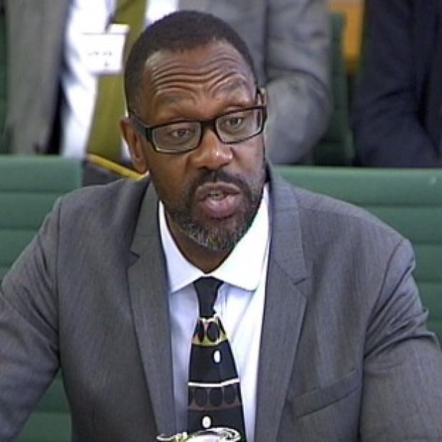 Knutsford Guardian: Lenny Henry gives evidence to the Culture, Media and Sport committee