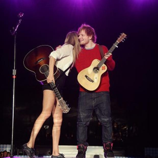 Knutsford Guardian: Ed Sheeran says his friend Taylor Swift has a personality that is older than her years