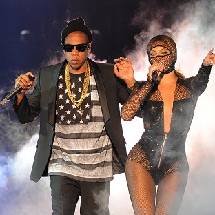 Beyonce and Jay Z shared home video as their tour kicked off