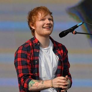 Knutsford Guardian: Ed Sheeran's album has gone straight in at the number one spot