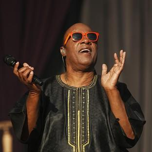 Stevie Wonder performs at the Calling Festival in London