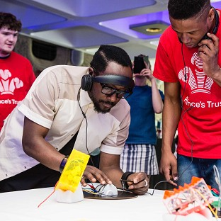 Will.i.am has seen how young people are learning high-tech skills as a resul