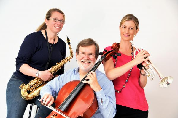 Hannah Sheldon, left, James Pearson and Kath Small have set up Knutsford Youth Orchestra	n142788