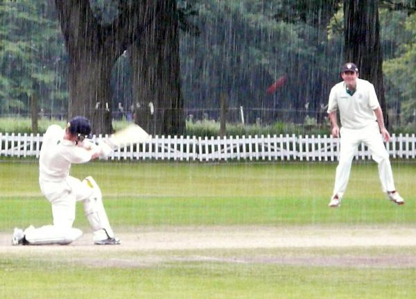 Toft teenager James Drummond hits the winning runs, reaching a personal century in the process, during Saturday's home win against Urmston