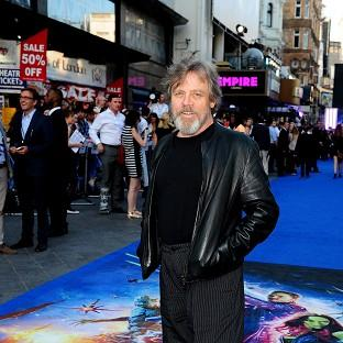 Mark Hamill is sporting a beard for his Star Wars role