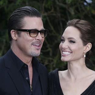 Brad Pitt and Angelina Jolie wrote letters to each other when they were apart
