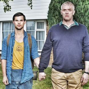 Taylor Lautner stars with Greg Davies in the new series of British sitcom Cukoo