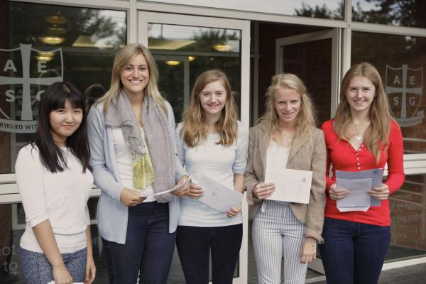 A-level success for Alderley Girls
