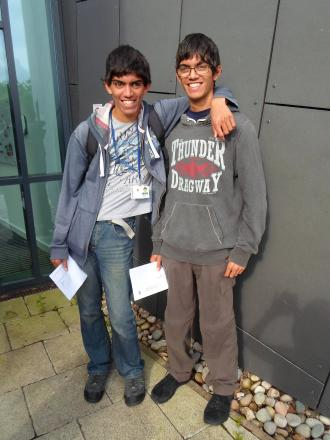 Daniel and Kieran Desouza are heading off to university after performing well in their A-levels
