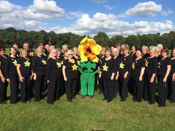 Rock Choir entertained the crowds at Walk Ten in Tatton Park earlier this month