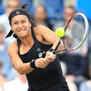 Heather Watson lost her opening
