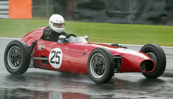 Bernard Brock from Knutsford racing his Elva 100 at Oulton Park. Picture: MIKE LYNE