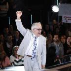 Knutsford Guardian: Channel 5 handout photo of Leslie Jordan as he is evicted from the Celebrity Big Brother house, at Elstree Studios, Borehamwood.