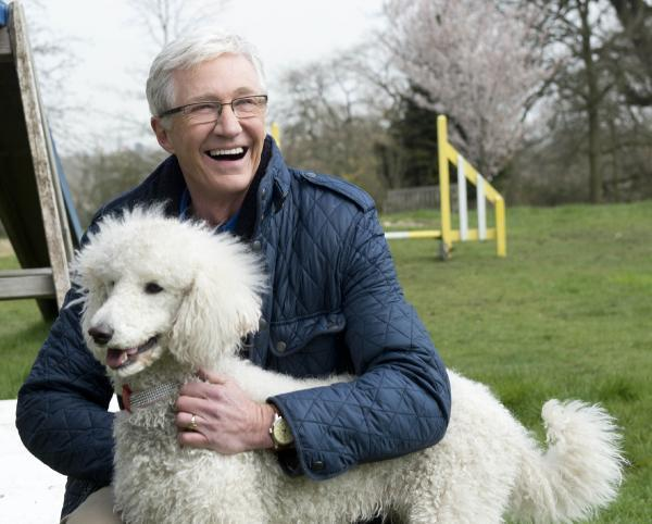 Paul O'Grady returns in For The Love Of Dogs on Thursday. Picture courtesy of PA Photo/Battersea Dogs and Cats Home/ Shiver Production/ITV