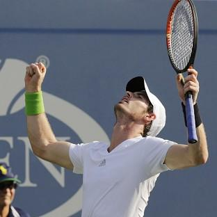 Andy Murray is happy with his form ahead of a US Open