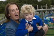 Jacqui Sanderson & Alfie Platt at Grandparents Day