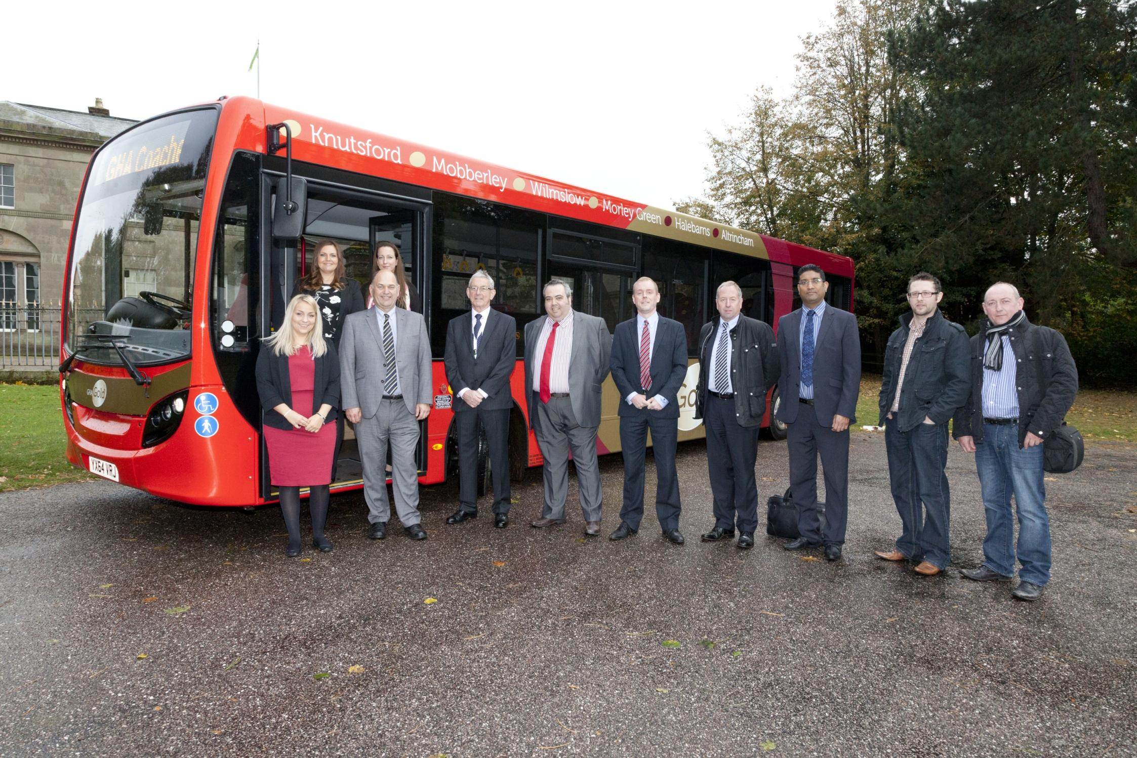 Bus firm launches new 'gold service' at Tatton Park