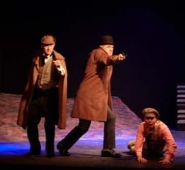 Knutsford twins give their verdict on The Hound of the Baskervilles at Knutsford Little Theatre