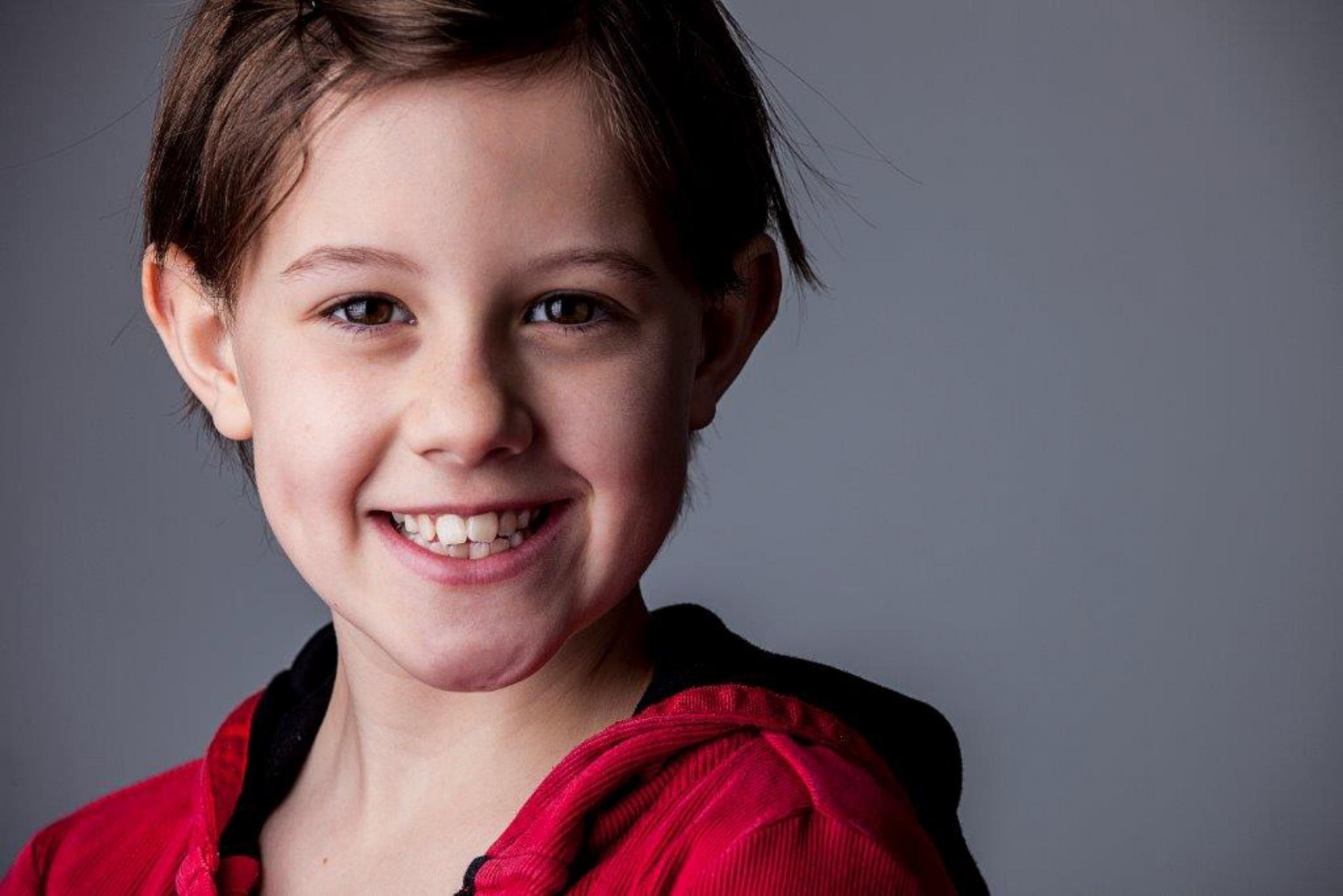 Ruby Barnhill, who has landed the lead role of Sophie in Stephen Spielberg's film adaptation of The BFG.  Photo:  Paul Warpole