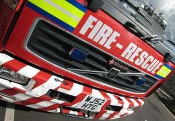 fuse box fire at town centre premises