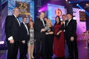 The Sytner team picking up the award