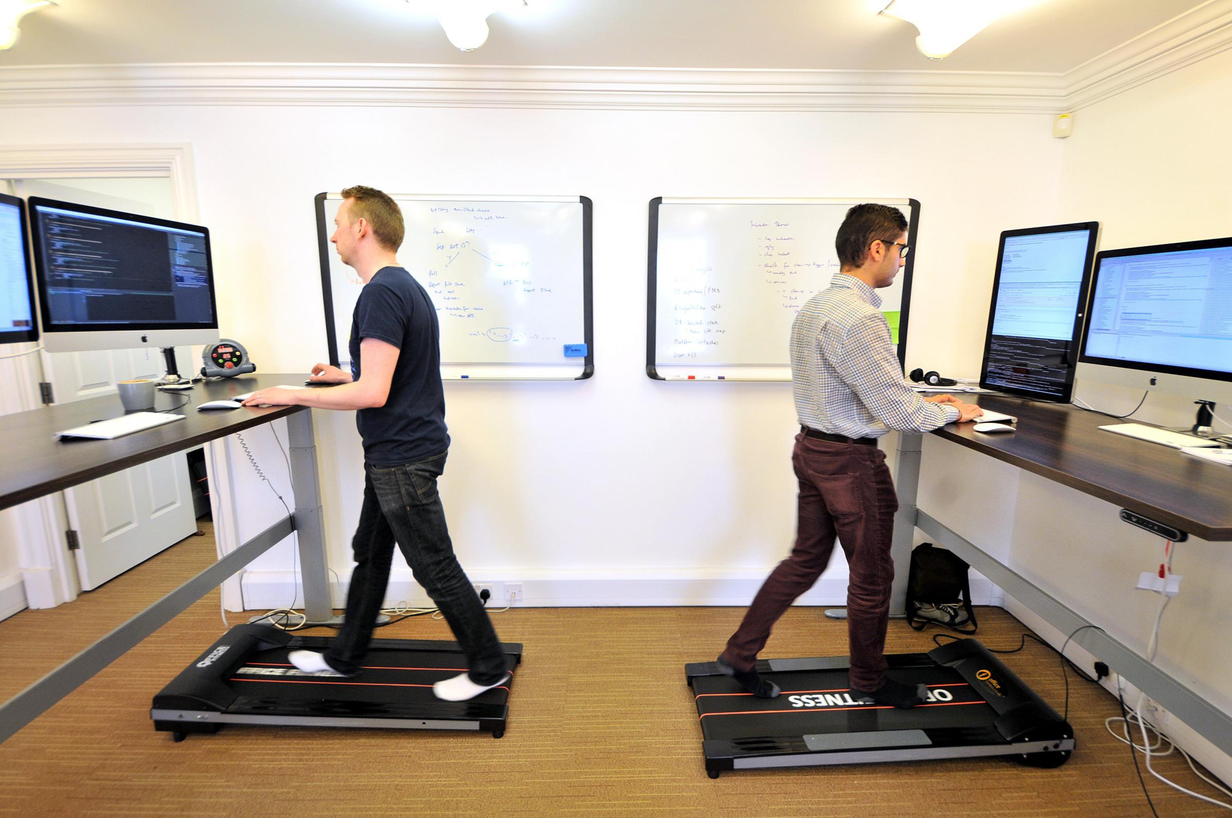 Beau Knutsford Entrepreneur Reveals Innovative Office Treadmills