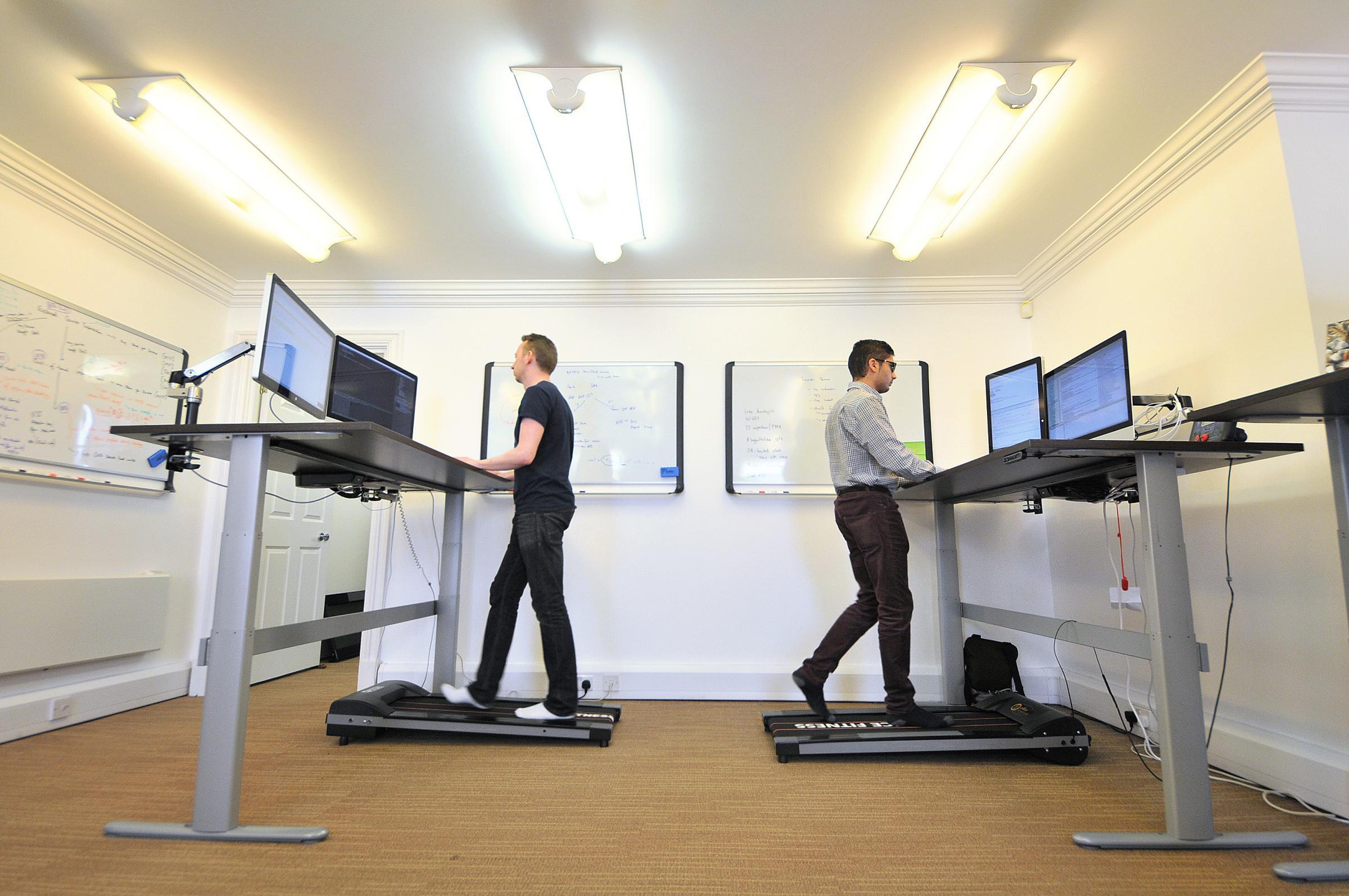 Knutsford Entrepreneur Reveals Innovative Office Treadmills
