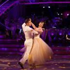 Knutsford Guardian: Daisy Lowe flies to top of the Strictly leaderboard after week one
