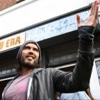 Knutsford Guardian: Russell Brand gives his east London cafe to charity