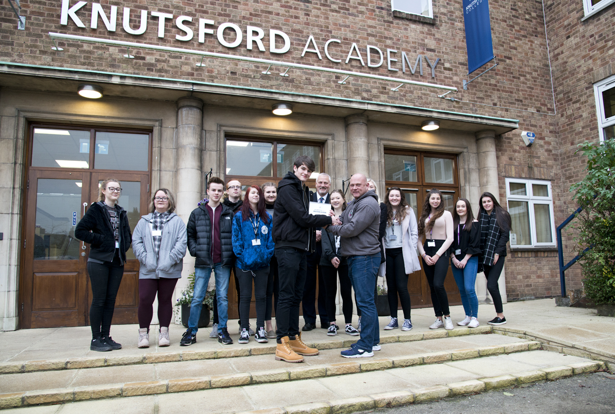 Knutsford Academy has been named a 'champion school' by the National Citizen Service thanks to its commitment to the youth programme.