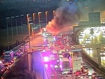 UPDATED 5PM WITH PICS AND VIDEO: M6 fully reopens after lorry fire chaos