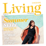 Knutsford Guardian: Cheshire Living Cover Summer 2017