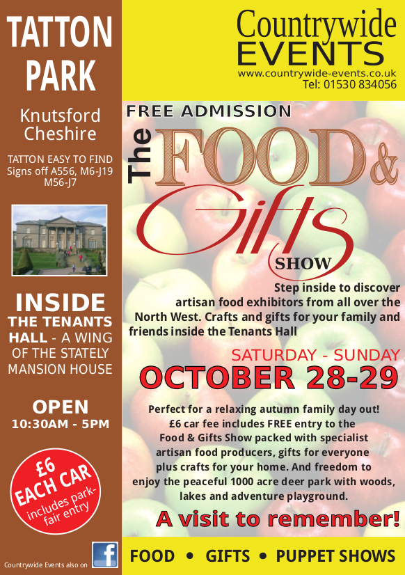 Food and Gifts Fair, Tatton Park