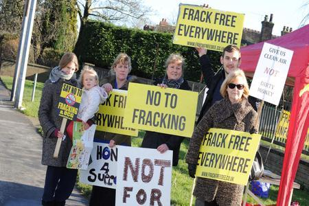 Government calls halt to fracking in the UK