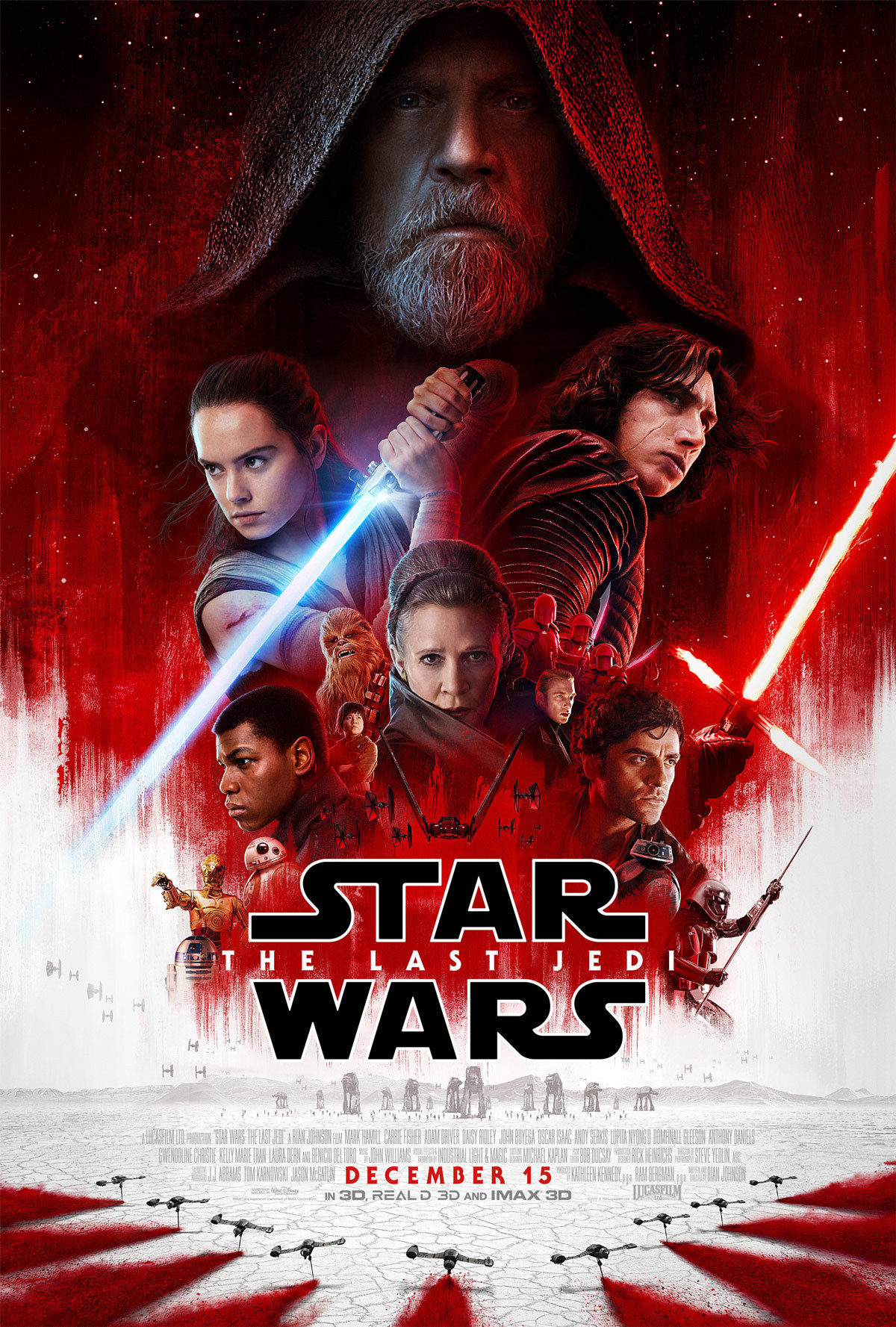 Why you might travel to a cinema far, far away to see Star Wars: The Last Jedi