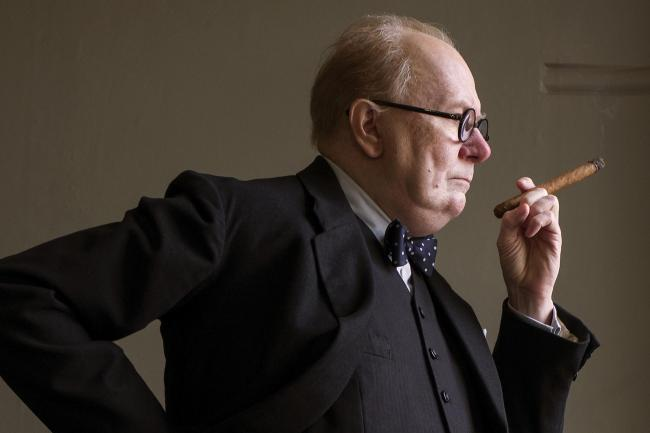 Gary Oldman as Winston Churchill in Darkest Hour