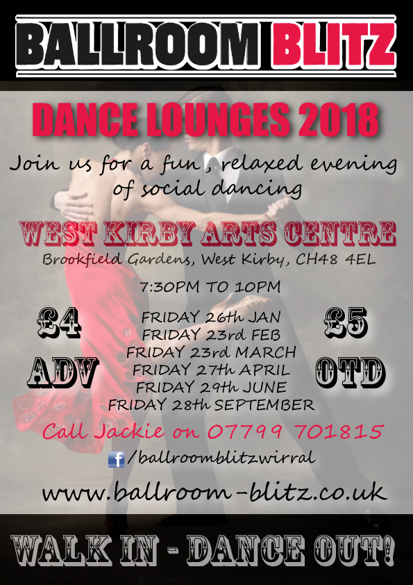 Ballroom Blitz Monthly Dance Lounge