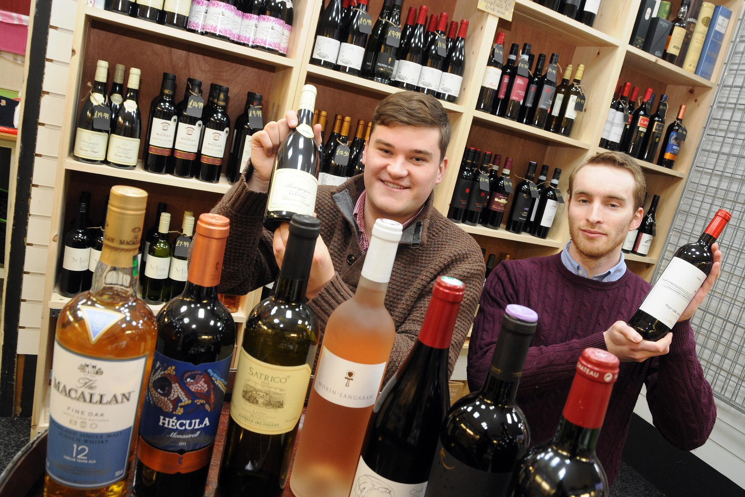 Wine merchant is open for business at Knutsford Market Hall