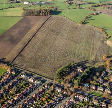 The Northwich Road site earmarked for the housing