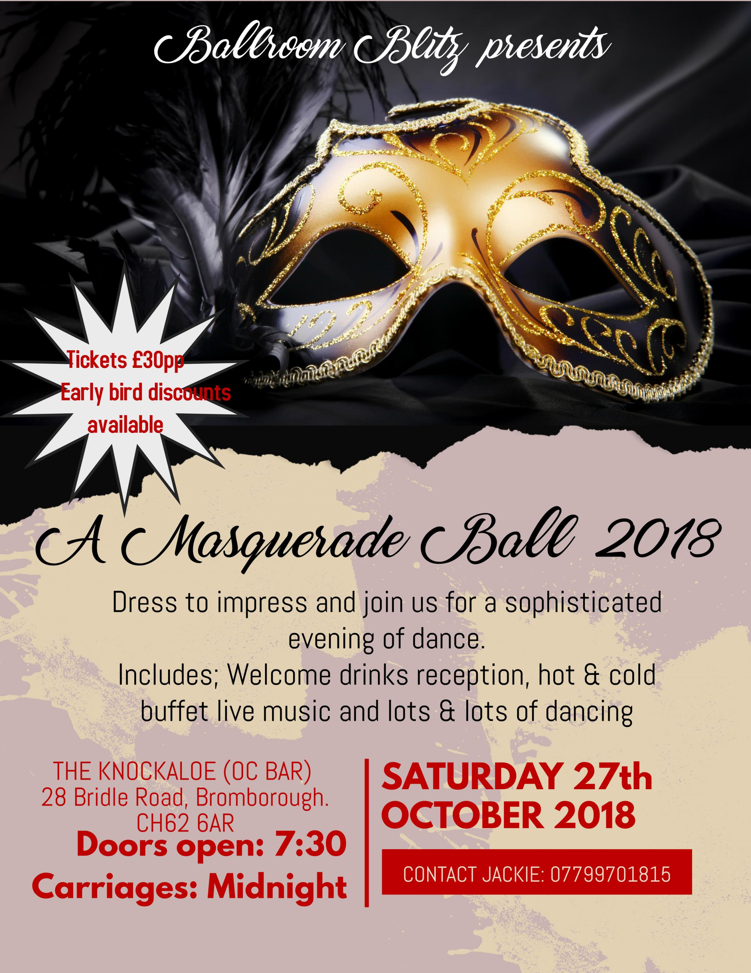 Ballroom Blitz Annual Ball