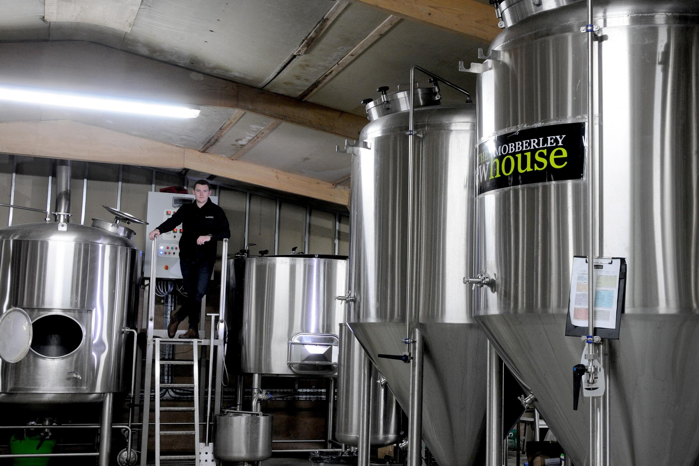 Mobberley Brewhouse are growing their reputation as one of the best craft beer companies in the north west. Theyâre about to introduce a canning line.